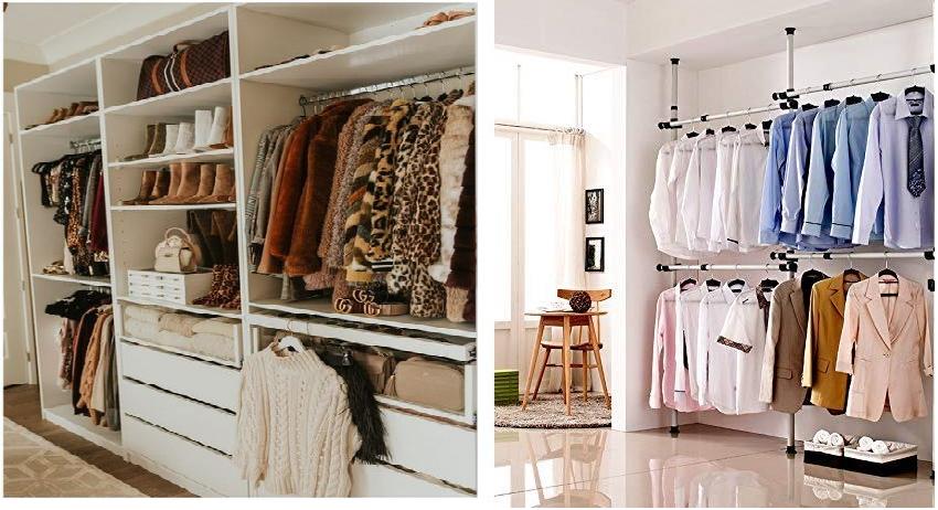 wardrobe sweater and coat